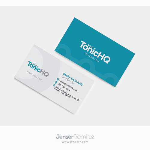 Clean Logo and Business Card concept