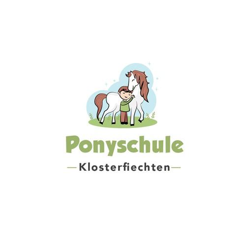 cute logo for pony farm