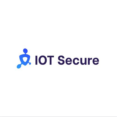 Concept Logo IOT Secure
