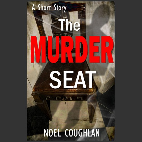"E-book cover for thriller ""The murder seat"""