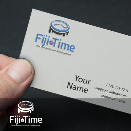 fji time logo mock up