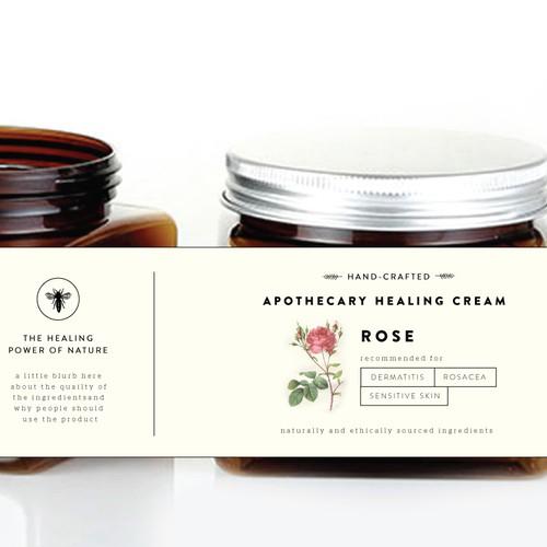 Packaging for skin cream
