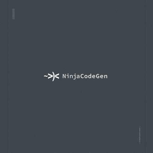 Minimalist design concept for a code development company