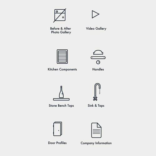 Kitchen App Icons
