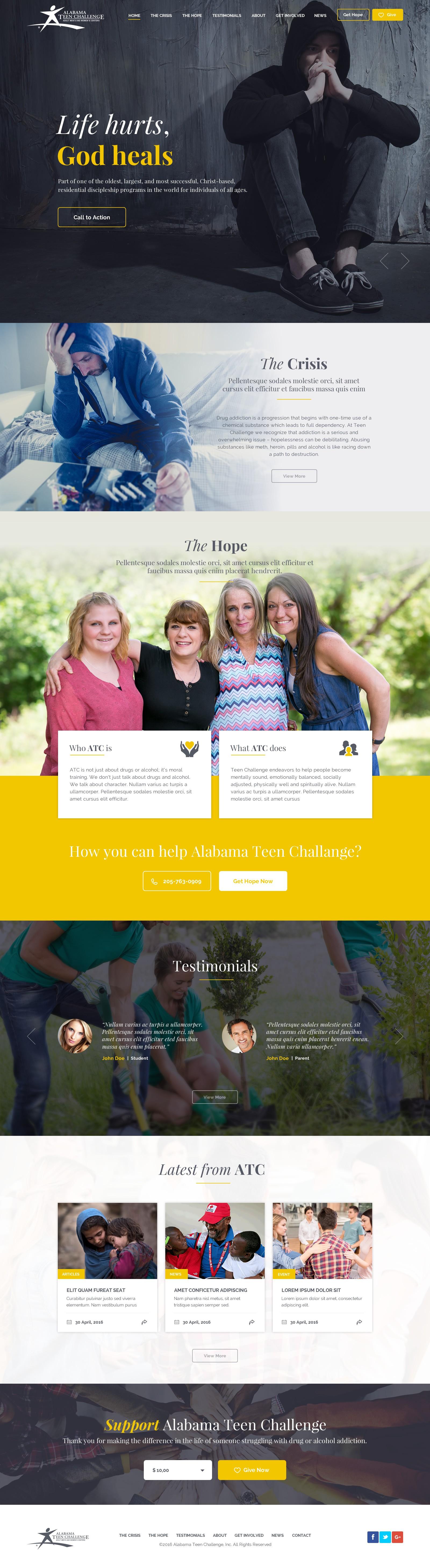 Alabama Teen Challenge - NonProfit