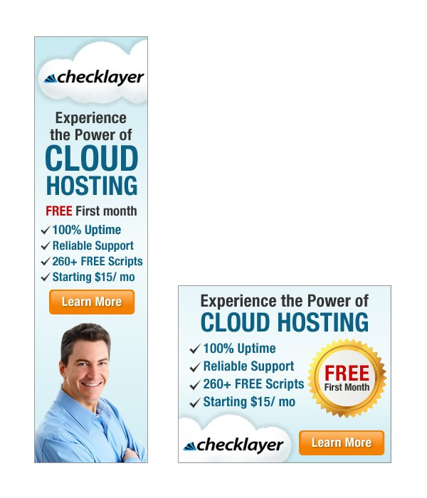 Create the next banner ad for CheckLayer.com