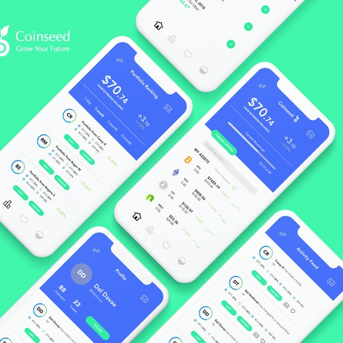 Crypto Investment App