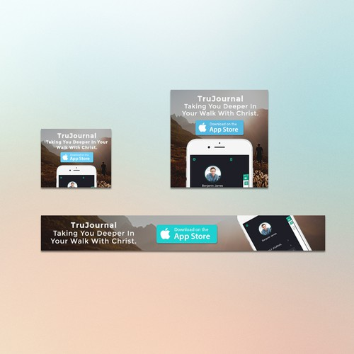 Banner Ads for TruJournal