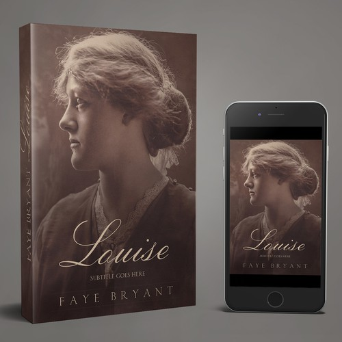 Louise. A fiction book cover