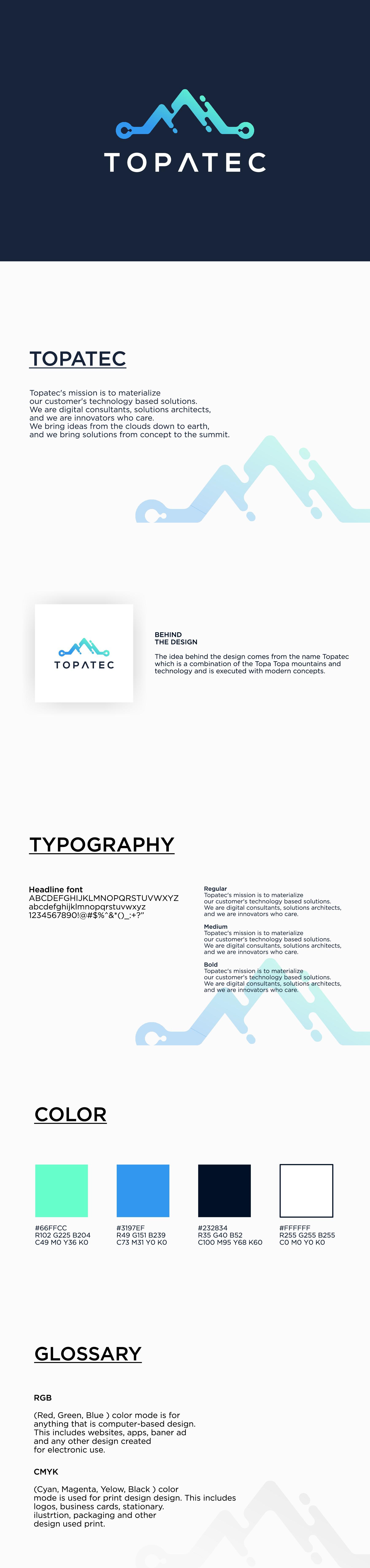 Topatec Branding