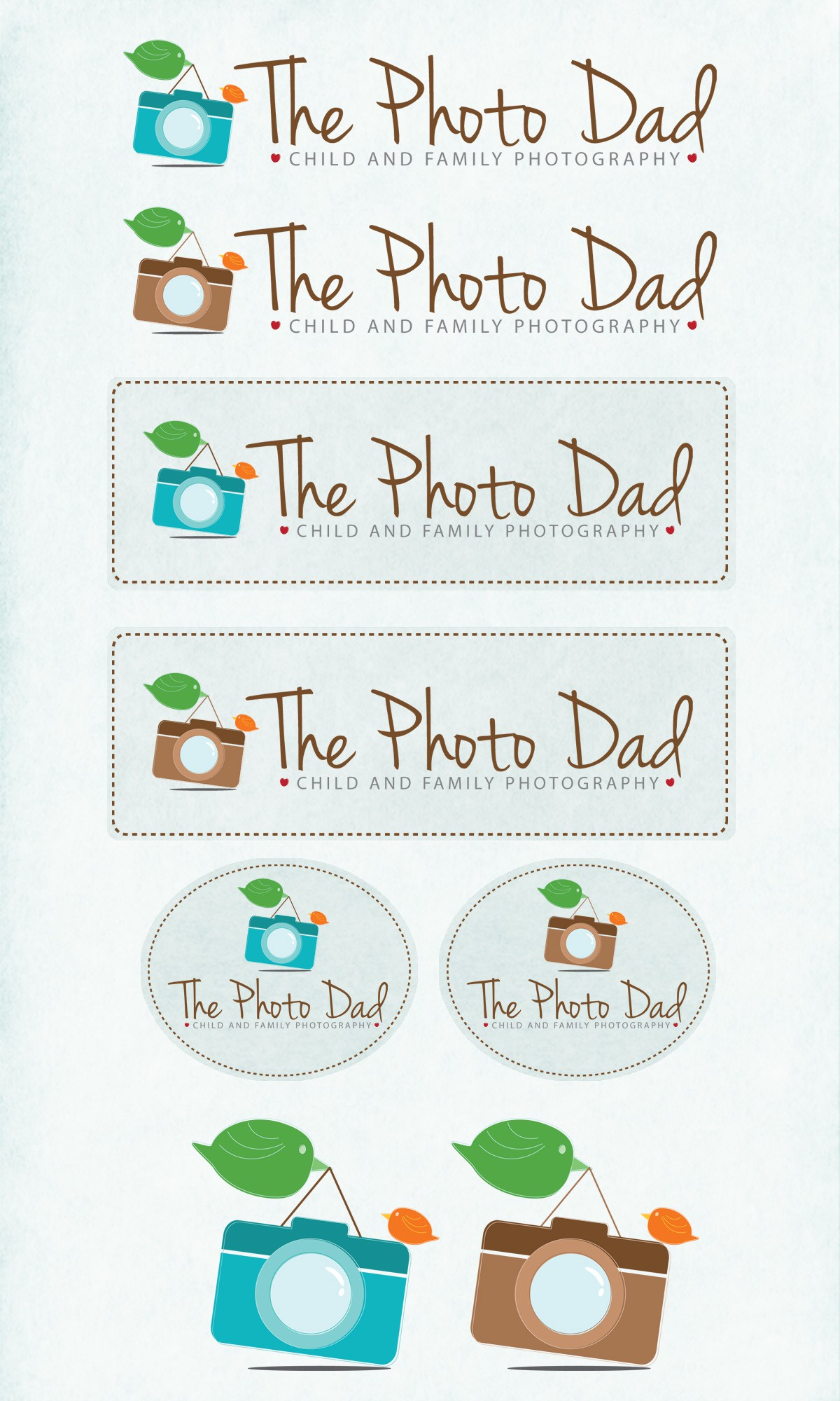 logo for The Photo Dad