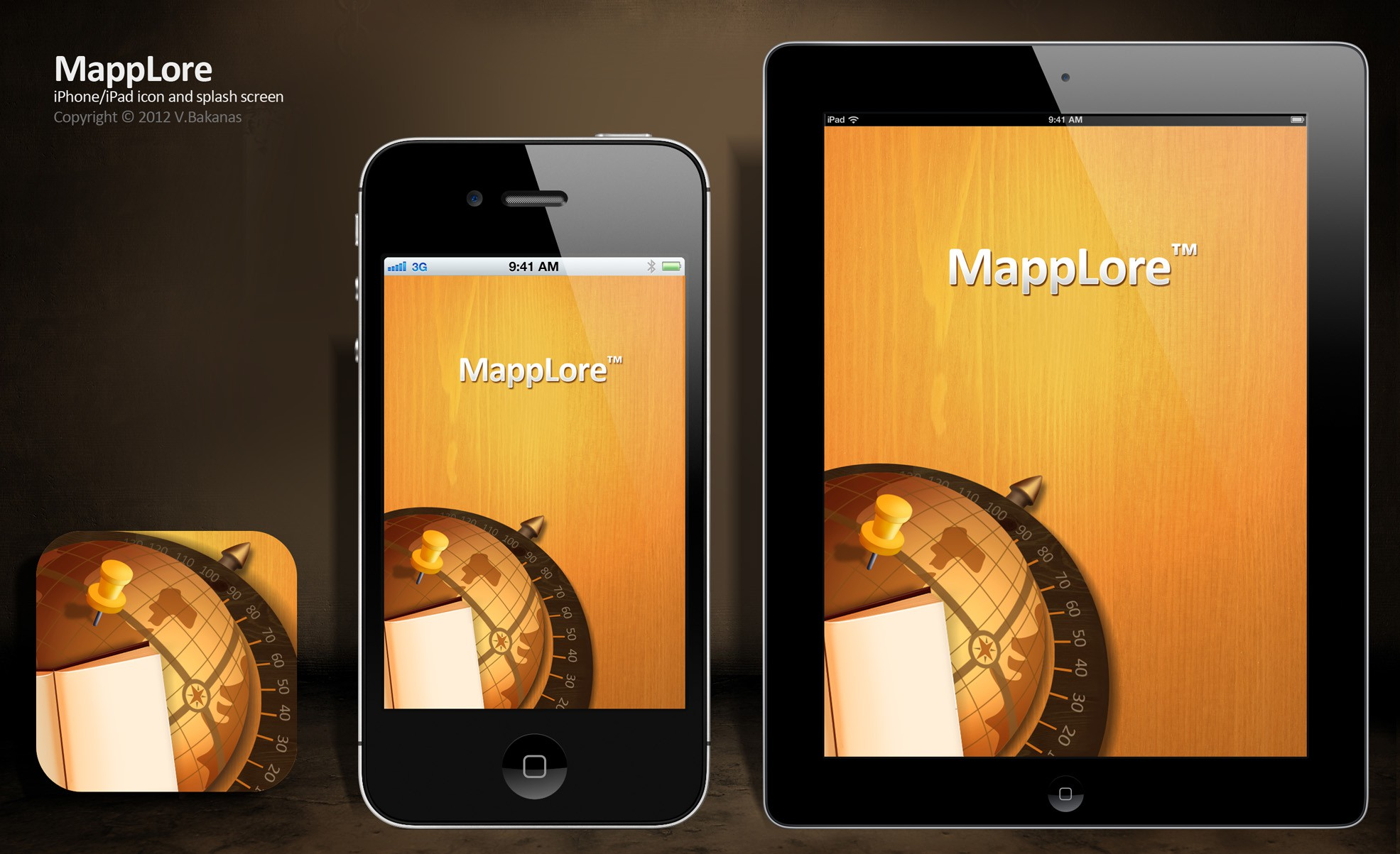 Help MappLore with a new icon or button design