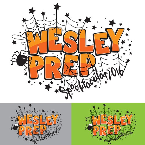 T-shirt design for a school carnival