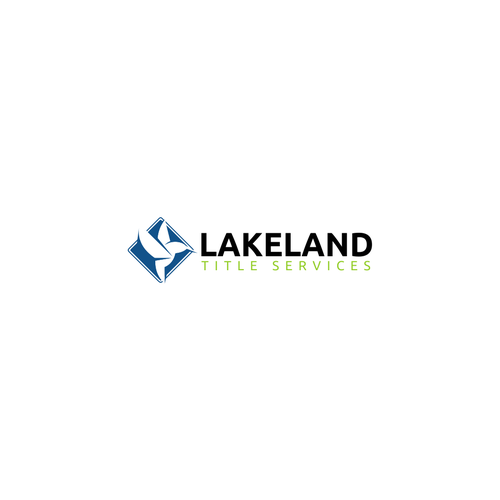Meaningful logo for Lakeland Title Services