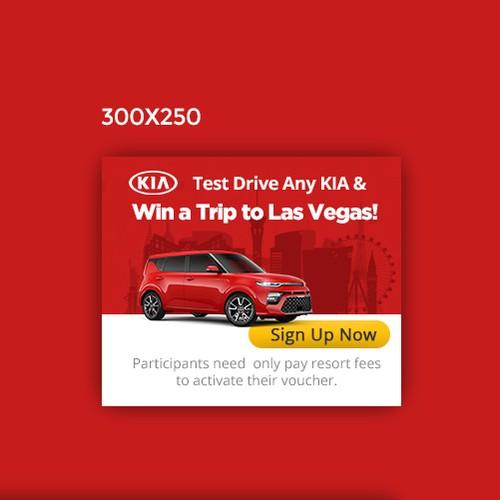 KIA Motors Google Display ad