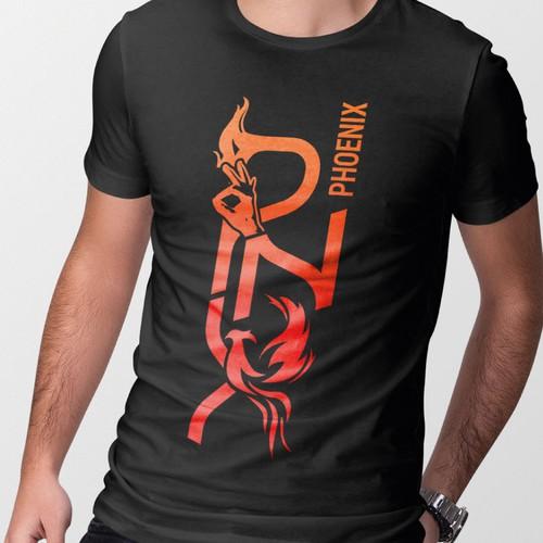 "Hip Hop Crew ""Phoenix"" logo"