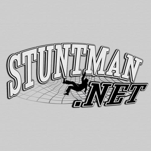 Create a unique logo for website... STUNTMAN.NET