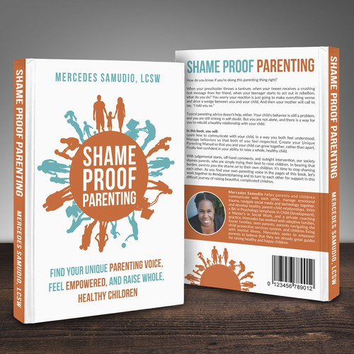 Shame Proof Parenting Book Cover for Paper Raven Books
