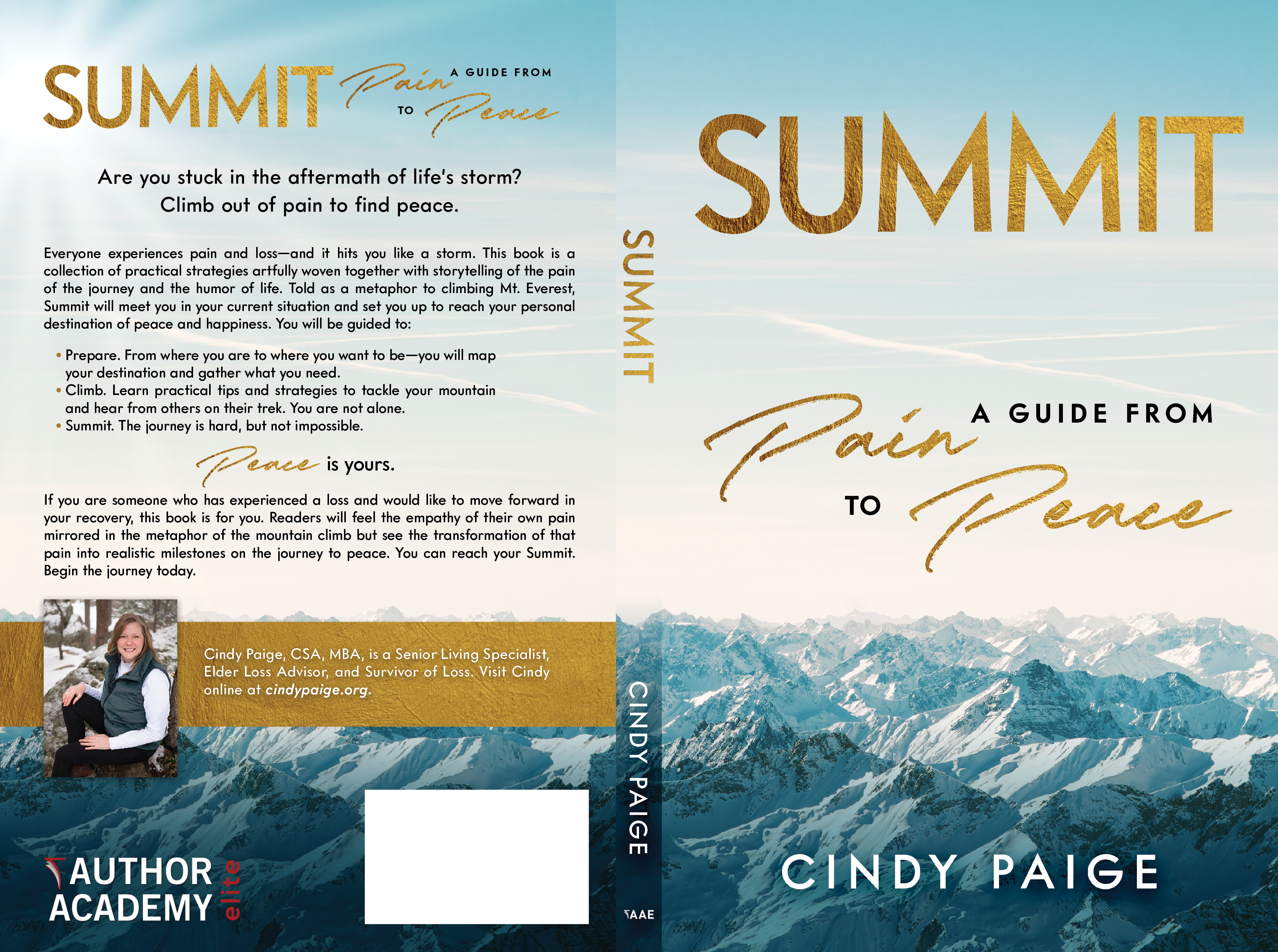 Create a nonfiction book cover with the potential for follow-up paid projects.