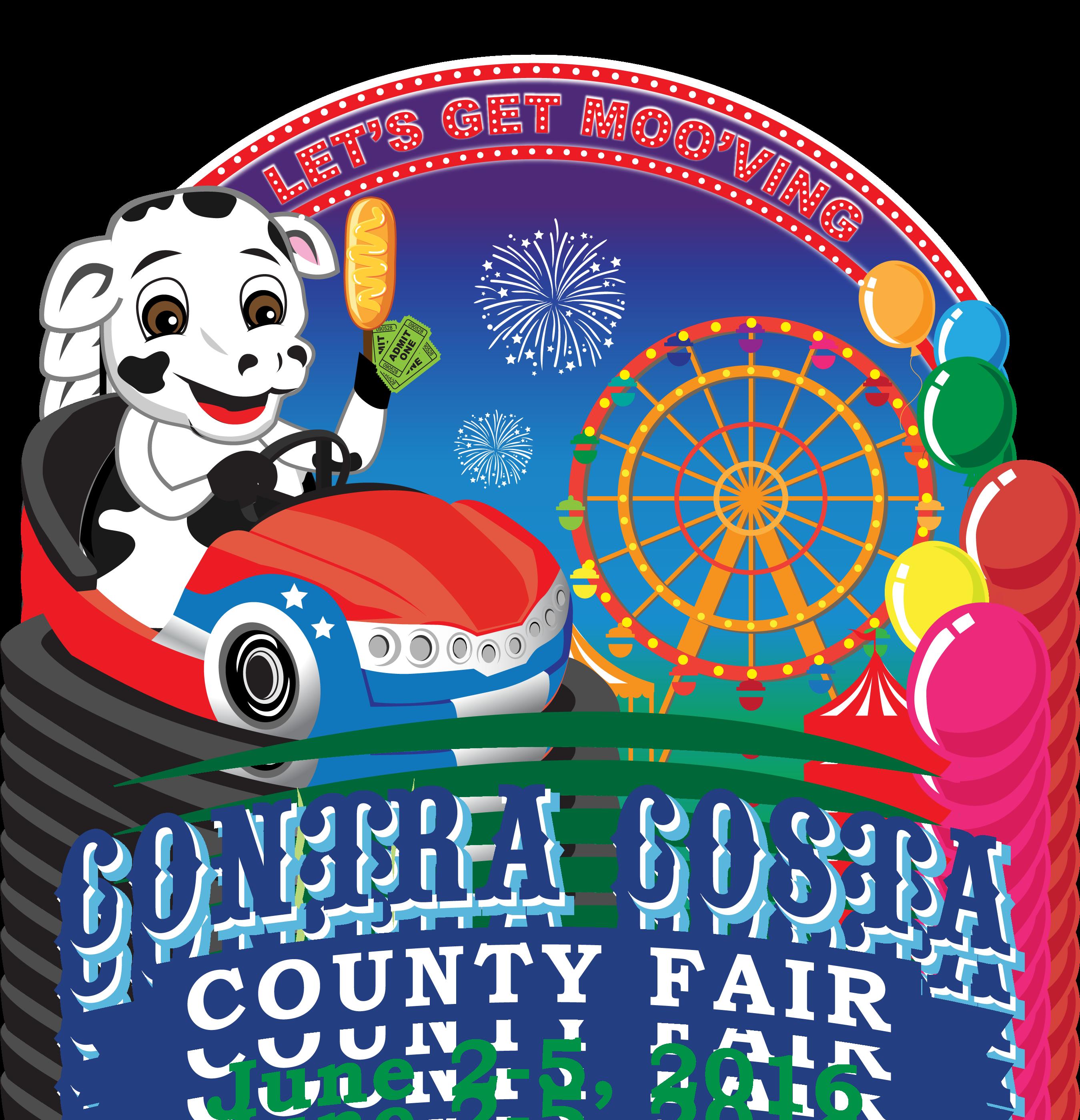 2016 Contra Costa County Fair logo