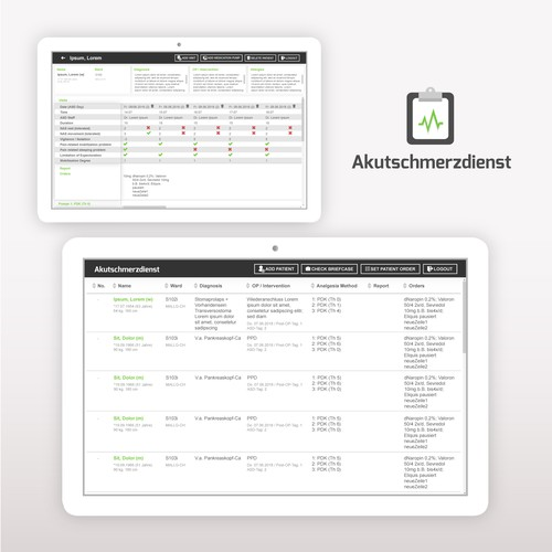 Medical Documentation App for Akutschmerzdienst