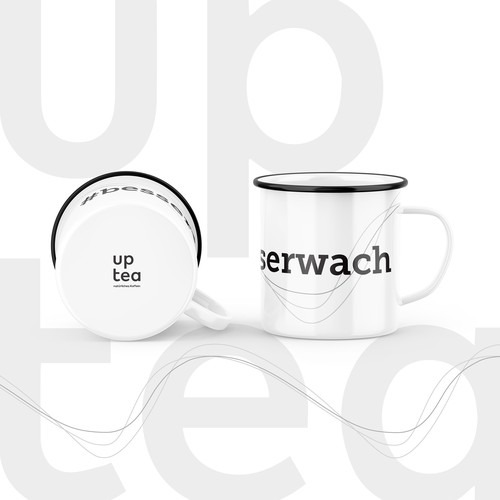 UP TEA - The enamel cup design for high caffeine tea Startup
