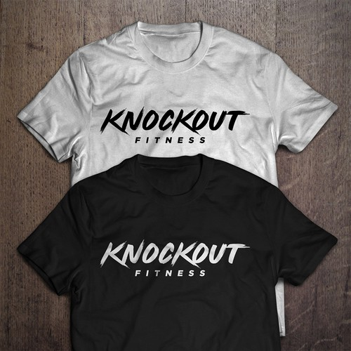 KNOCKOUT FITNESS Logo design