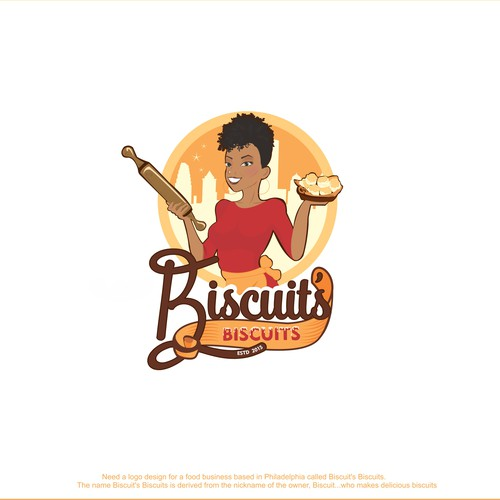 Logo for biscuits bussines