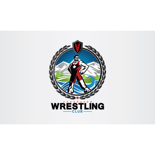 Logo for Vancouver Wrestling Club