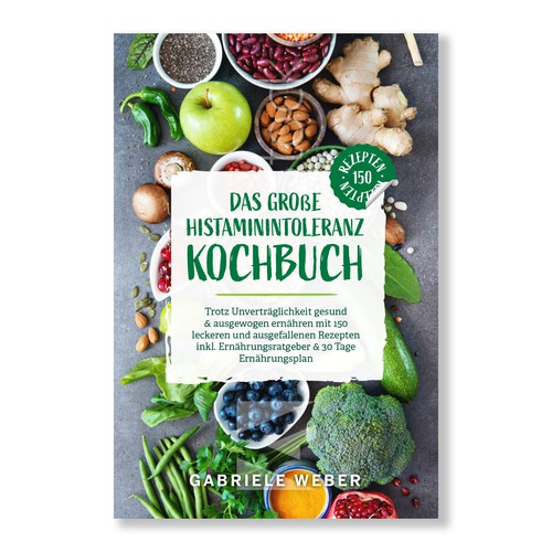 Eye Catching Cookbook Cover