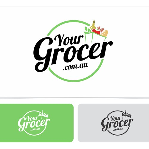 Create a logo for YourGrocer.com.au, an awesome online grocery startup!