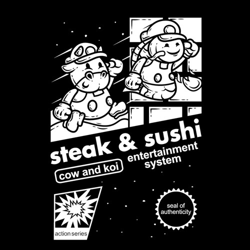 Steak and sushi 2