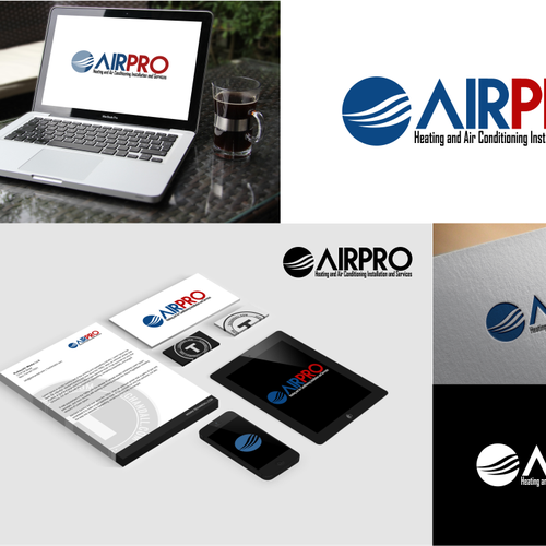 Air Conditioning Bussiness Logo