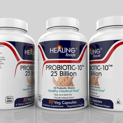 label for Probiotic