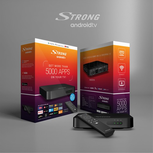 Android smart box packaging