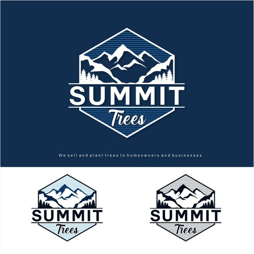 logo for top tree planting company