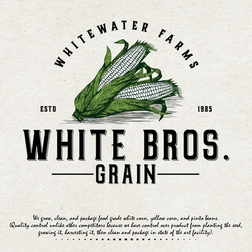Logo for White Bros. Grain