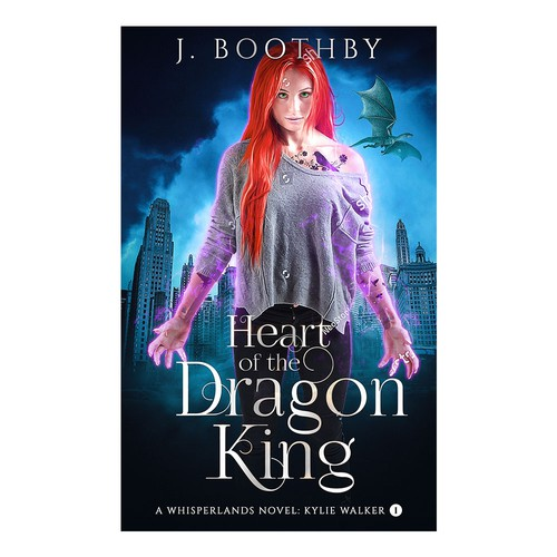 Heart of the Dragon King Book Cover.