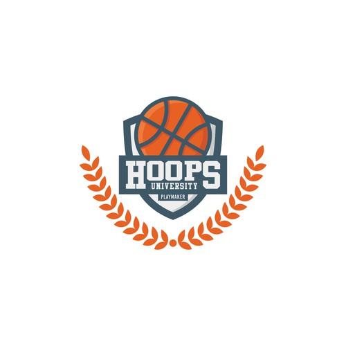 Logo concept for Hoops University