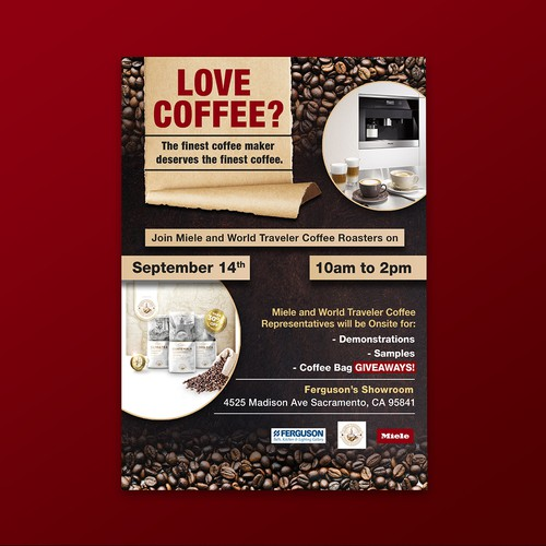 Love Coffee Flyer