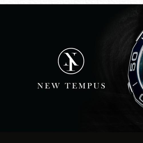 elegant logo for watch company
