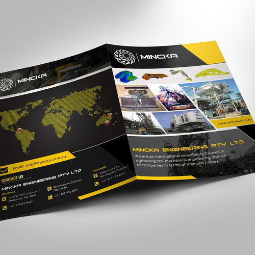 Brochure concept Mincka Engineering