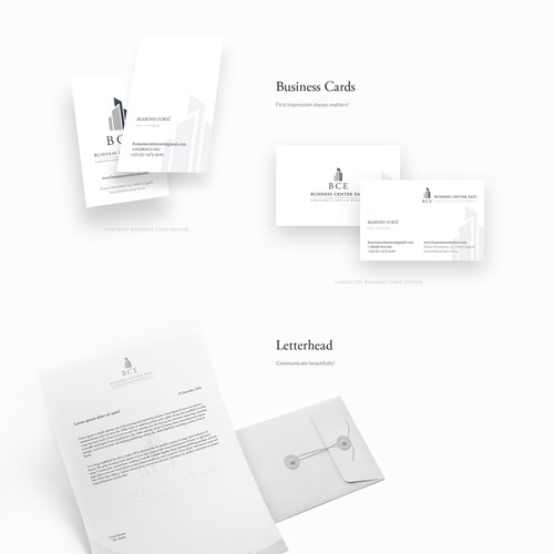 Logo, branding, identity and web design for commercial building fund