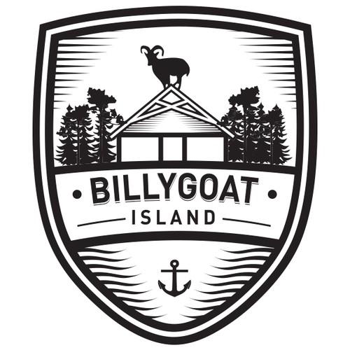 logo for Billygoat Island