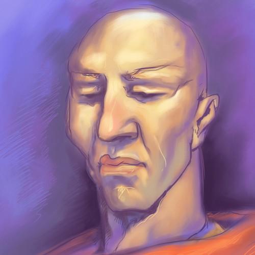 Buddhist face
