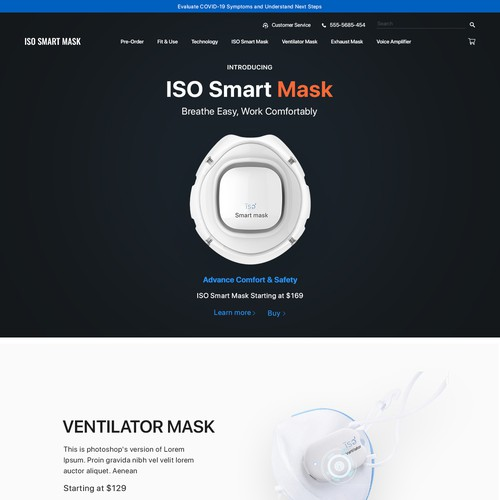 ISO Smart Mask