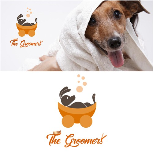 Branding Idea for Pet Groomers Company