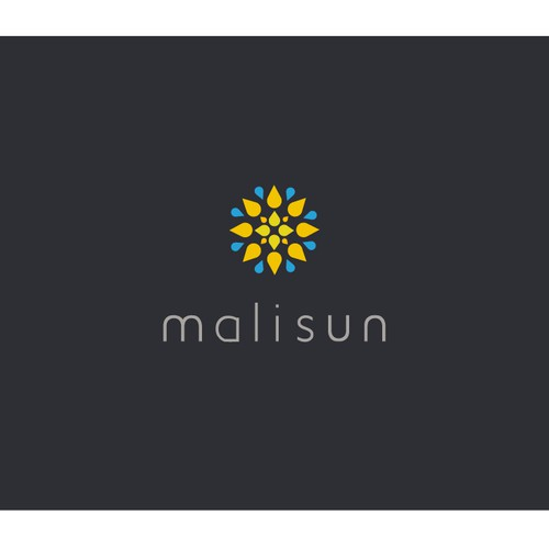 Logo design for beautiful Malisun.