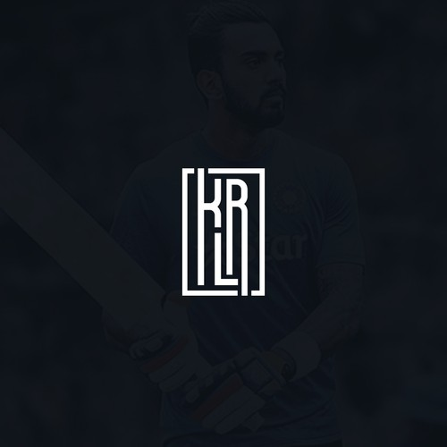 Logo design concept for Indian Cricketer KL Rahul