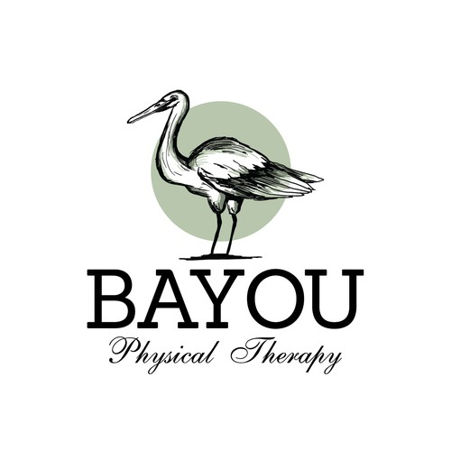 Physcal therapy clinic logo design